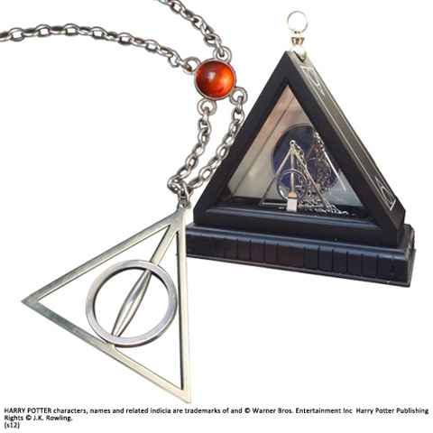 Lovegood, necklace, hp, harry potter, Ketting xenophilius, deathly hallows
